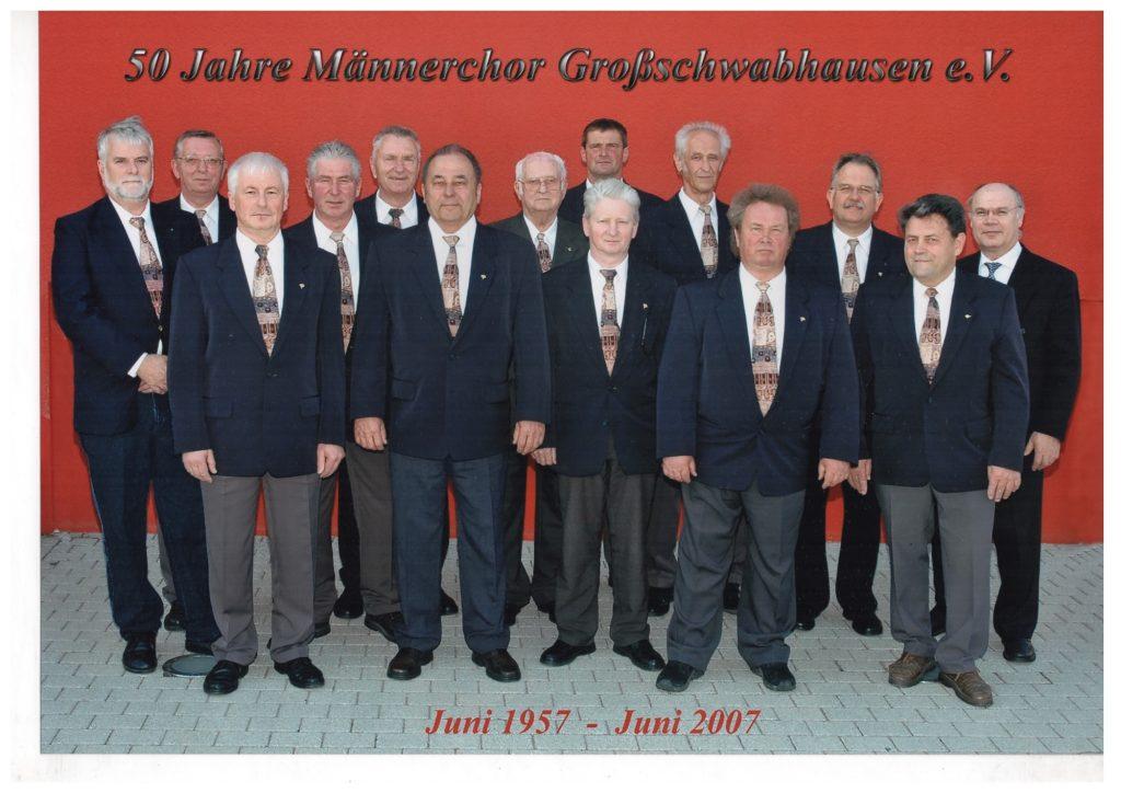 50 Jahre Männerchor Großschwabhausen e.V.
