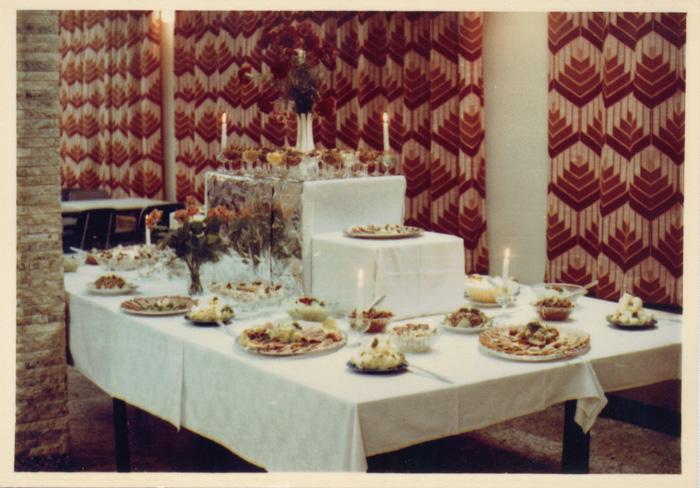 Buffet im alten Saal